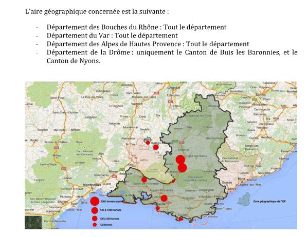 savon de marseille procédé marseillais AIRE GEOGRAPHIQUE indic ation géographique